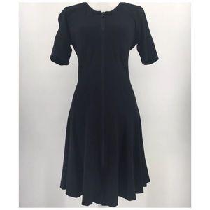 Theory Womens Dress Bonbi Short Sleeve Fit & Flare